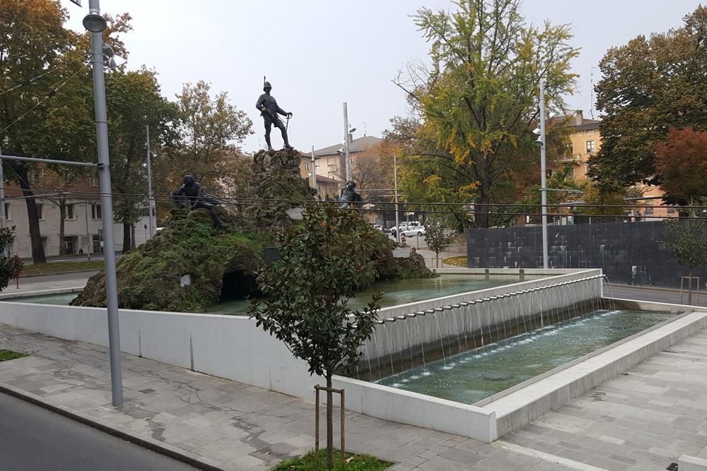 Delocalizzazione monumento a V. Bottego Parma